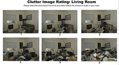 Hoe rommelig is jouw huiskamer