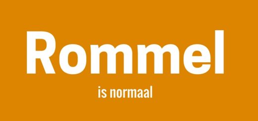 Rommel is normaal.