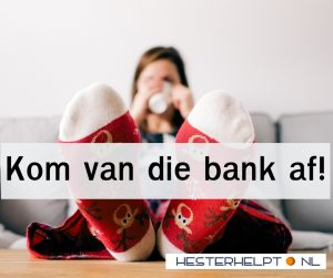 Tips om jezelf van de bank te krijgen